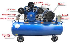 30 liter portable air compressor pistons puma for spray painting