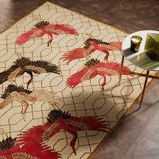 crane rug by wendy morrison for john lewis