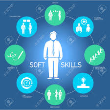 soft skills vector icons and pictograms set black on colorfulf soft skills vector icons and pictograms set black on colorfulf background stock vector 24380336