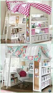 Loft Bed With Underneath Desk Design Space Saving Kids Room Furniture  Design #InteriorDesign