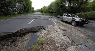 Image result for earthquake road damage