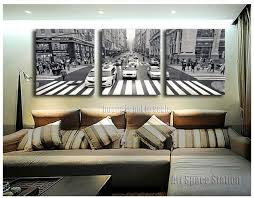 aliexpress com buy 3 pieces new york city street view canvas