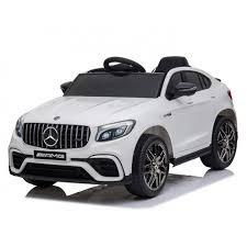 <b>Электромобиль Mercedes</b>-<b>Benz GLC</b> 63 AMG White 12V - QLS-5688