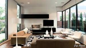 living room minimalist Modern Home Interior Designs Decobizz