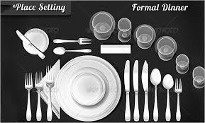 Table Setting Templates 5 Place Setting Templates Free Sample Example Format