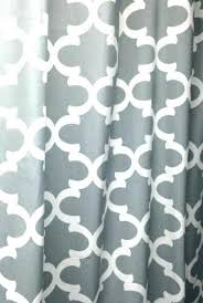 full size of shower curtain grey curtains cool and white d quatrefoil gray with blackout