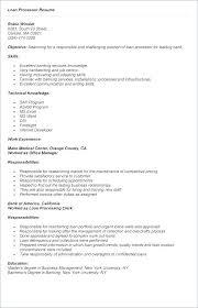 Mortgage Loan Consultant Sample Resume Ha