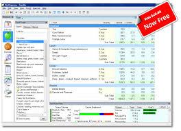 torganizer t software calorie counter food view screen shot