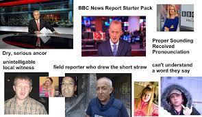 BBC News Report Starter Pack : starterpacks