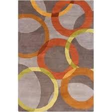 gray and orange area rug hand tufted wool warm gray orange area rug deasia light gray gray and orange area rug orange gray blue