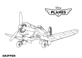 Disney Planes Coloring Pages Color Bros