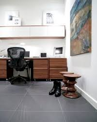 home office flooring. Delighful Home Have The Look Of Slate In Your Home Office With Marmoleum Modular Large  Tiles A Intended Home Office Flooring