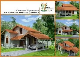 attractive home plans for sri lanka luxury house in stylist design ideas free