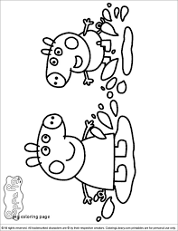 Peppa Pig Coloring Pages Coloring Pages Online