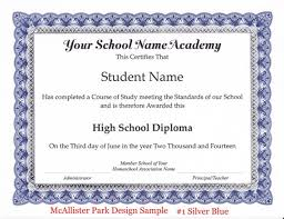 High School Diploma Certificate Fancy Design Templates Homeschool Diploma Certificate And Honor Roll Homeschool