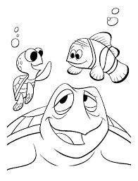 Finding Nemo Free To Color For Kids Finding Nemo Kids Coloring Pages