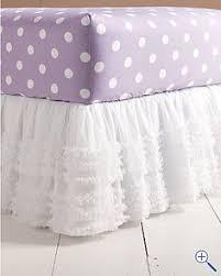 girls bed skirt. Wonderful Girls Tulle Bedskirt And Polka Dot Sheets Intended Girls Bed Skirt S