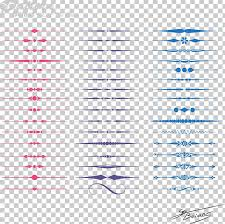 Color Line Border Pattern Png Clipart Abstract Lines