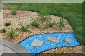 glass mulch landscaping ideas that will impress you