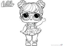 Awesome Lol Dolls Colouring Pages Also Pin On Kids Coloring