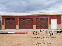 3 car matching garage doors