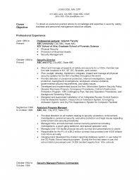 Resume Entry Level Professor Awesome Lecturer Sample Contegrif