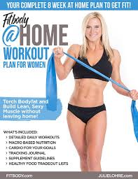 fit at home workout plan for women