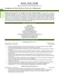 Realtor Resume Sample Resume Creative Idea Real Estate Resume Sample