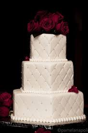 Best 25+ Quilted cake ideas on Pinterest | Fondant cake ... & square quilted wedding cake with silver pearl beads at each
