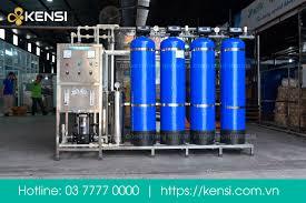 Máy lọc nước công nghiệp RO cho nhà máy sản xuất Sơn