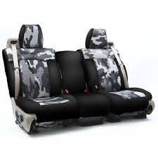 traditional military camo custom fit seat covers for