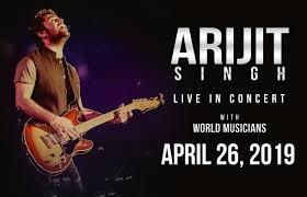 Events Arijit Singh Sears Centre