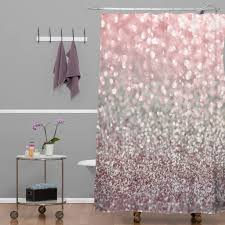 grey and pink bathroom accessories lisa argyropoulos girly pink snowfall showertain tubs bath bathroomtains fascinating