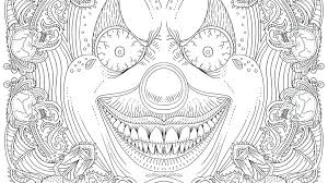 Horror Astrology Coloring Pages Print Themed Beauty