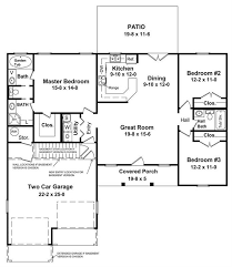 1400 sq ft country house plan 3