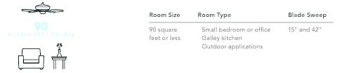small room ceiling fan size ceiling fan size for bedroom fan size for bedroom ceiling fan