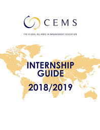 Cems Internship Guide 2018 2019 By Cems Issuu