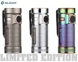 <b>Фонарь Olight S mini</b>-Ti Titanium | Купить фонарь Olight (Олайт)