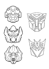 Transformers Coloring Pages For Kids Free Printable Coloring Pages