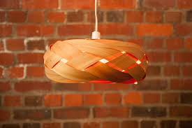 the braid wood and copper light shade