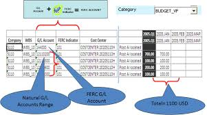 Ferc Chart Of Accounts Sapexperts Execute The Ferc Reporting Process With Sap Bpc
