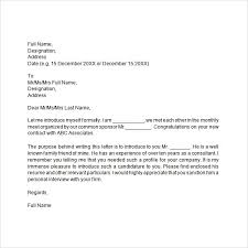 email introduction sample introduction business email template