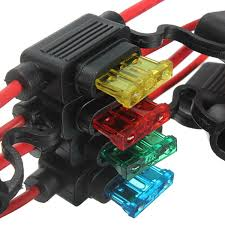online buy whole waterproof fuse box from waterproof 5 pcs waterproof car auto 10 15 20 30a amp in line blade