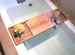 best bathtub caddy bamboo bathtub tray organizer with extending