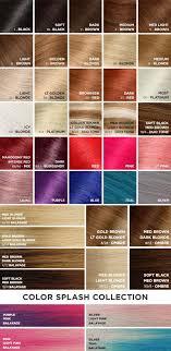 Hair Extension Color Chart Color Chart 2018 Aqua Hair Extensions