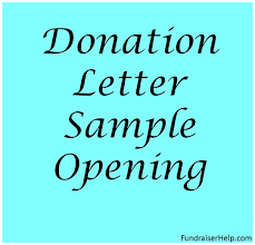 Donation Letter Samples Donation Appeal Quotes Sample Sponsorship Request Letter Donation
