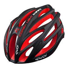 Ekoi Corsa Light Helmet Ekoi Corsa Light Black Red Helmet