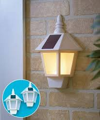 sets of 2 wall mounting solar lights