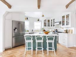 modern country kitchens. Emily Henderson Frigidaire Kitchen Reveal Waverly English Modern Edited Beams 121 Country Kitchens