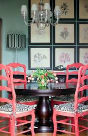 don t be afraid of color when designing your dream dining room